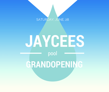 Jaycees Pool Graphic